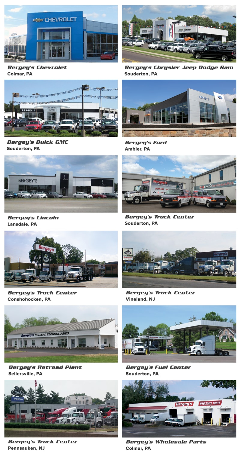 bergey 39 s auto dealerships new dodge jeep gmc buick lincoln chevrol. Cars Review. Best American Auto & Cars Review