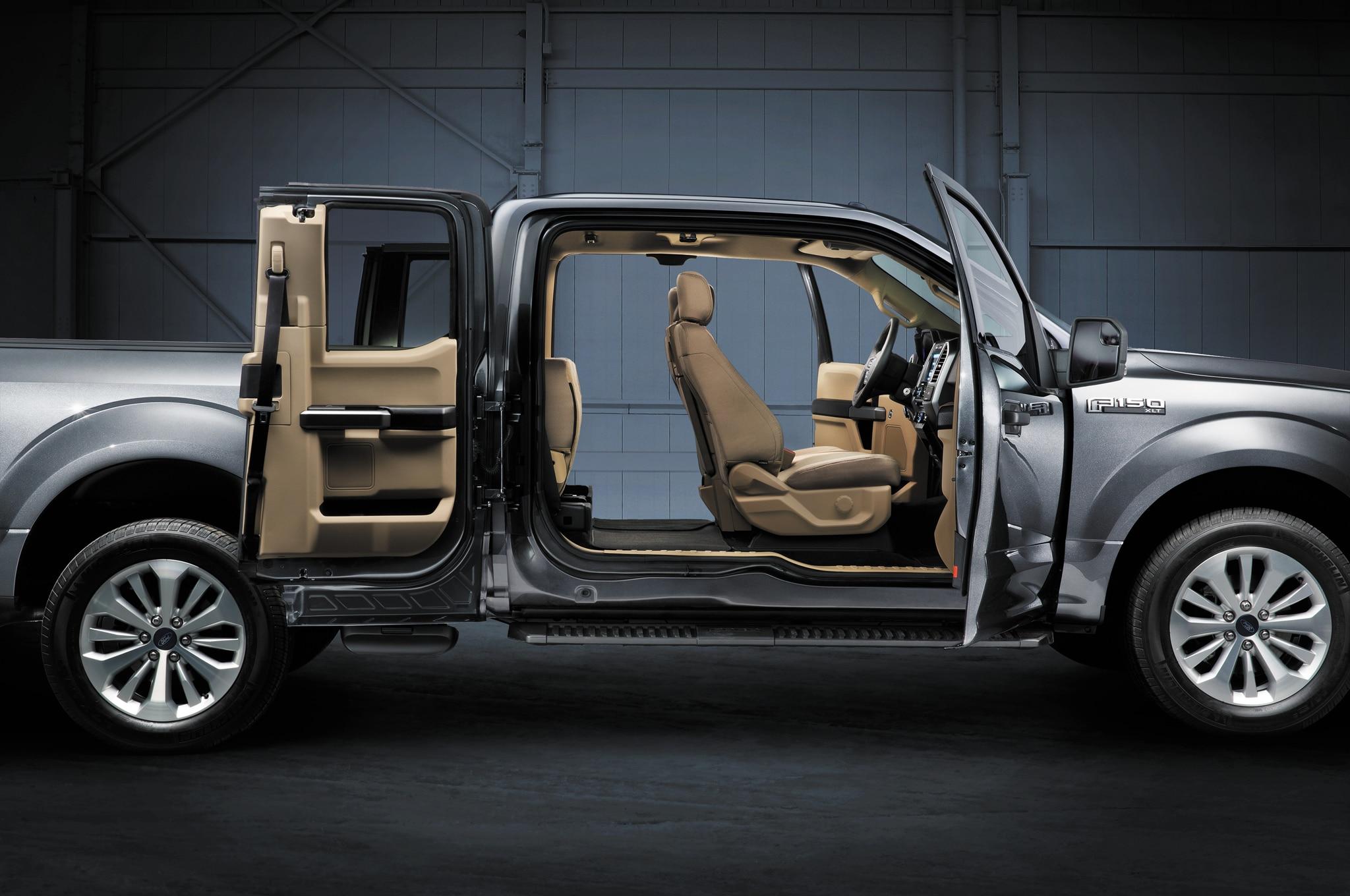 more capable - 2015 Ford F150 Fx4 Interior