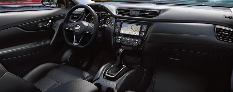 2018 Nissan Rogue Interior