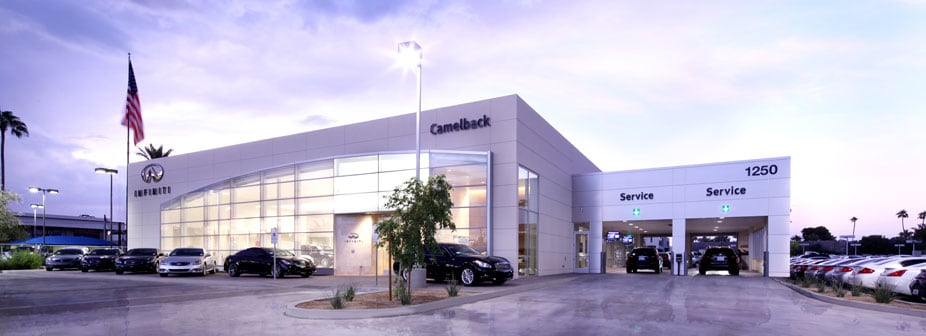 Infiniti On Camelback Infiniti Dealership Phoenix Az