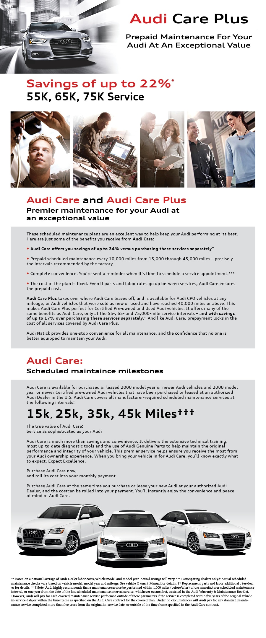 bernardi audi natick offers audi care plus to help you save up to