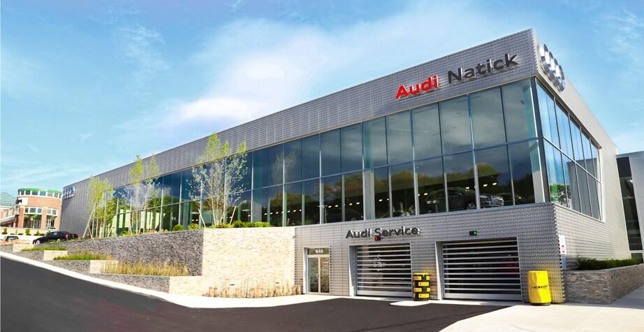 Audi Natick Renovation Massachusetts Audi Dealership