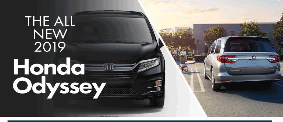 New 2019 Honda Odyssey Near Natick Framingham Greater Boston Ma