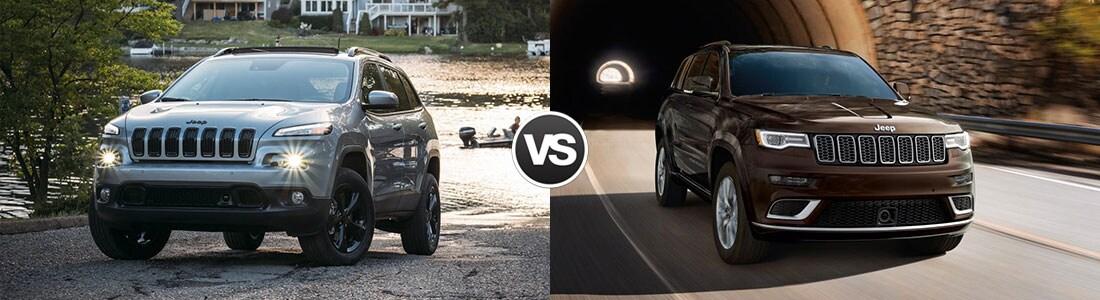 2017 Jeep Cherokee vs 2017 Jeep Grand Cherokee
