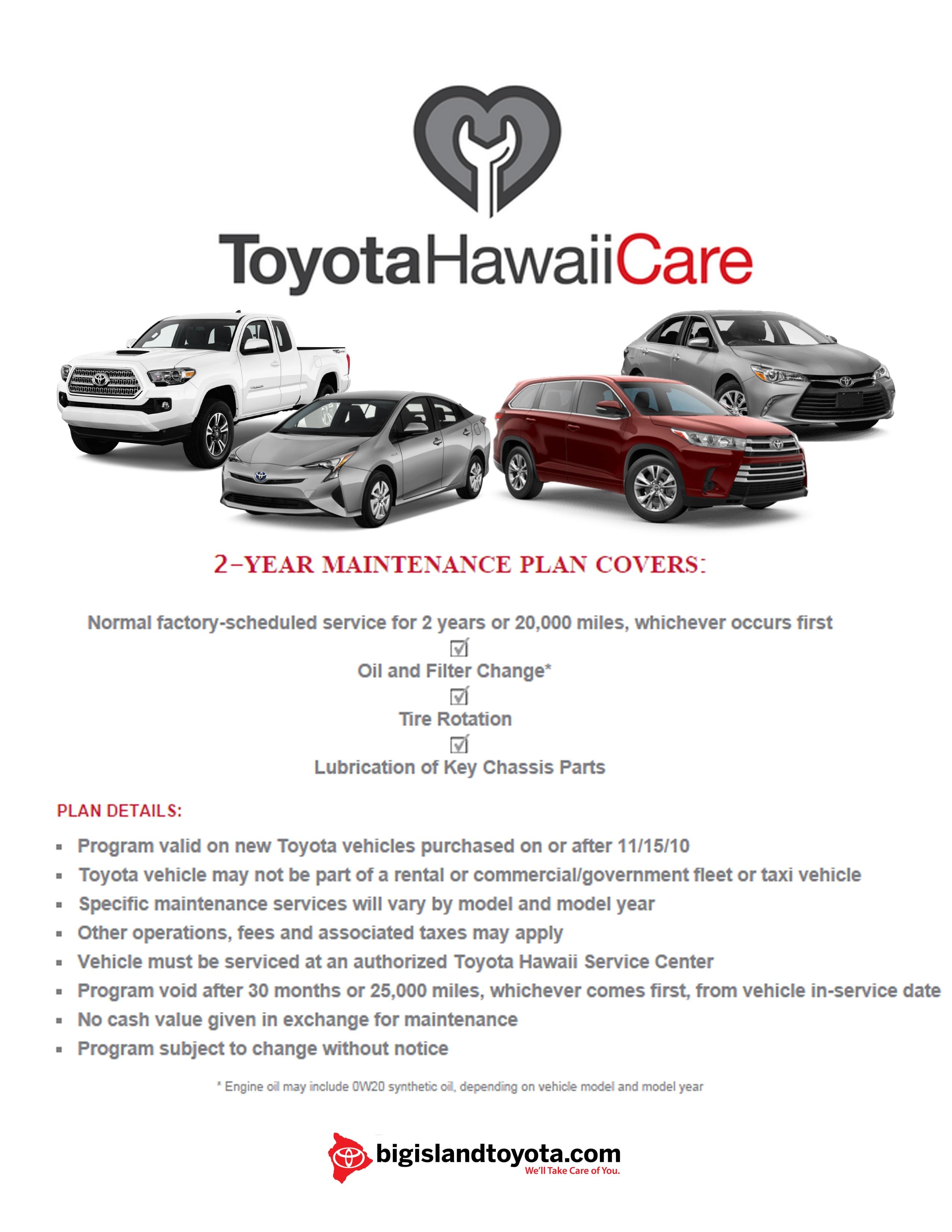 Toyota hawaii care