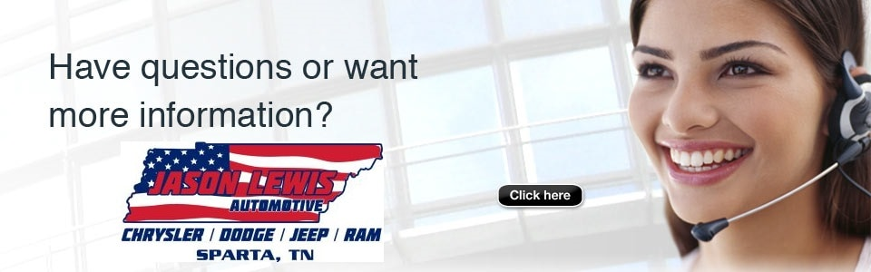 Contact Chrysler Dodge Jeep Ram Dealer Near Jamestown TN