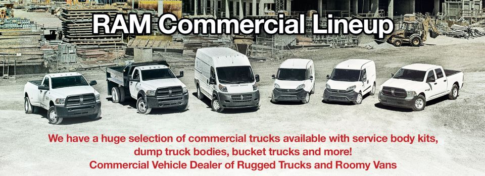 Dodge Ram Chrysler Jeep Commercial Fleet Dealer Sparta TN