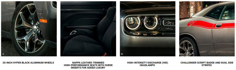 2017 Dodge Challenger RT Classic Package Features