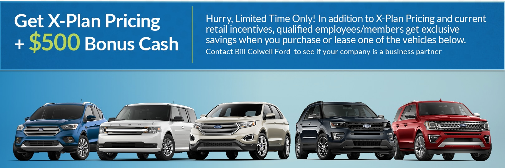 Bill Colwell Ford Inc New Ford Dealership In Hudson IA - Ford employee pricing vs invoice