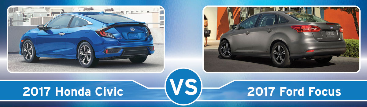 Honda Civic Vs Ford Focus Rear View