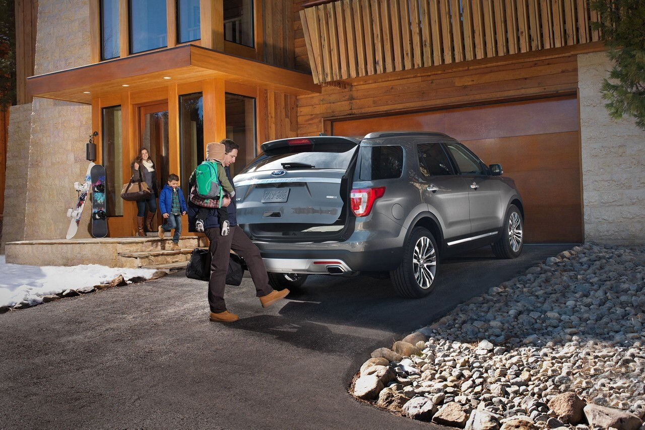 2018 Ford Explorer Features