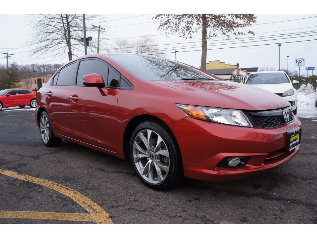 2012 Used Honda Civic For Sale Bridgewater, NJ | VIN:2HGFB6E57CH703205