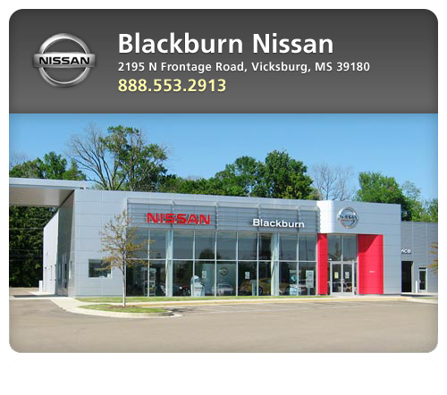 Blackburn nissan new nissan dealership in vicksburg ms for Cannon motor company jackson ms