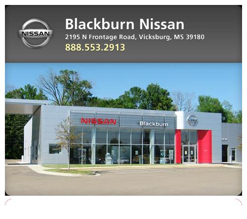 Blackburn nissan new nissan dealership in vicksburg ms for Blackburn motors in vicksburg ms