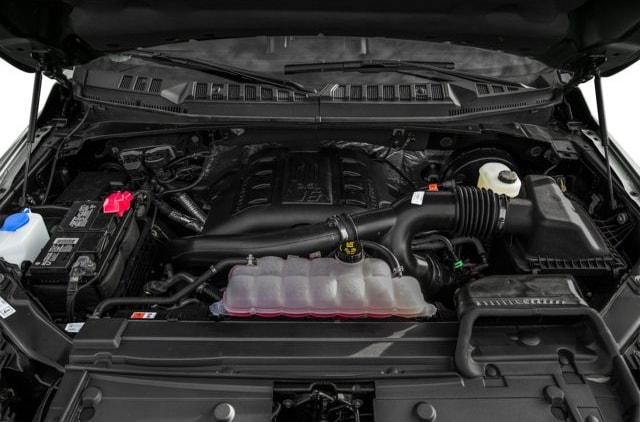 Ford F-150 Engine Compartment