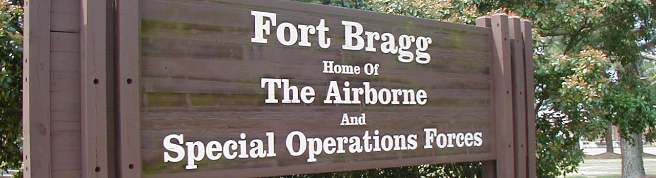 Fort Bragg Gate