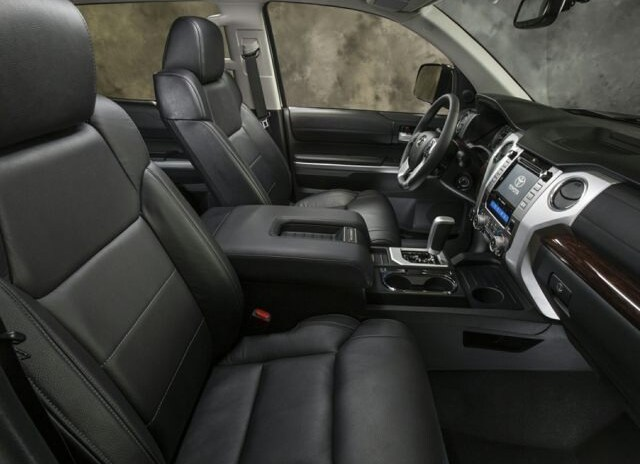 2017 Toyota Tundra Limited Interior