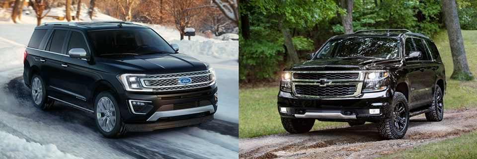 2018 ford expedition vs chevrolet tahoe suv comparison. Black Bedroom Furniture Sets. Home Design Ideas