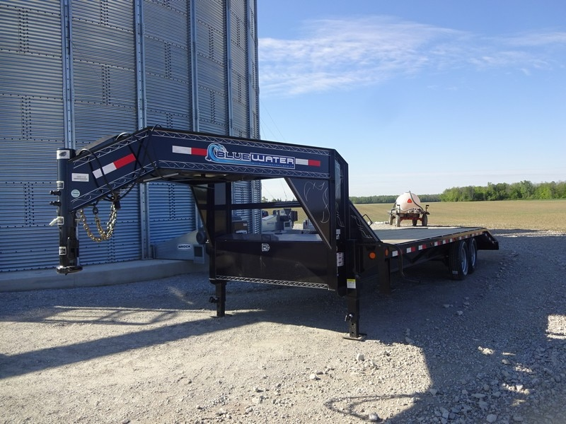 new 2017 load trail heavy duty 14 000lb gooseneck 12 i. Black Bedroom Furniture Sets. Home Design Ideas