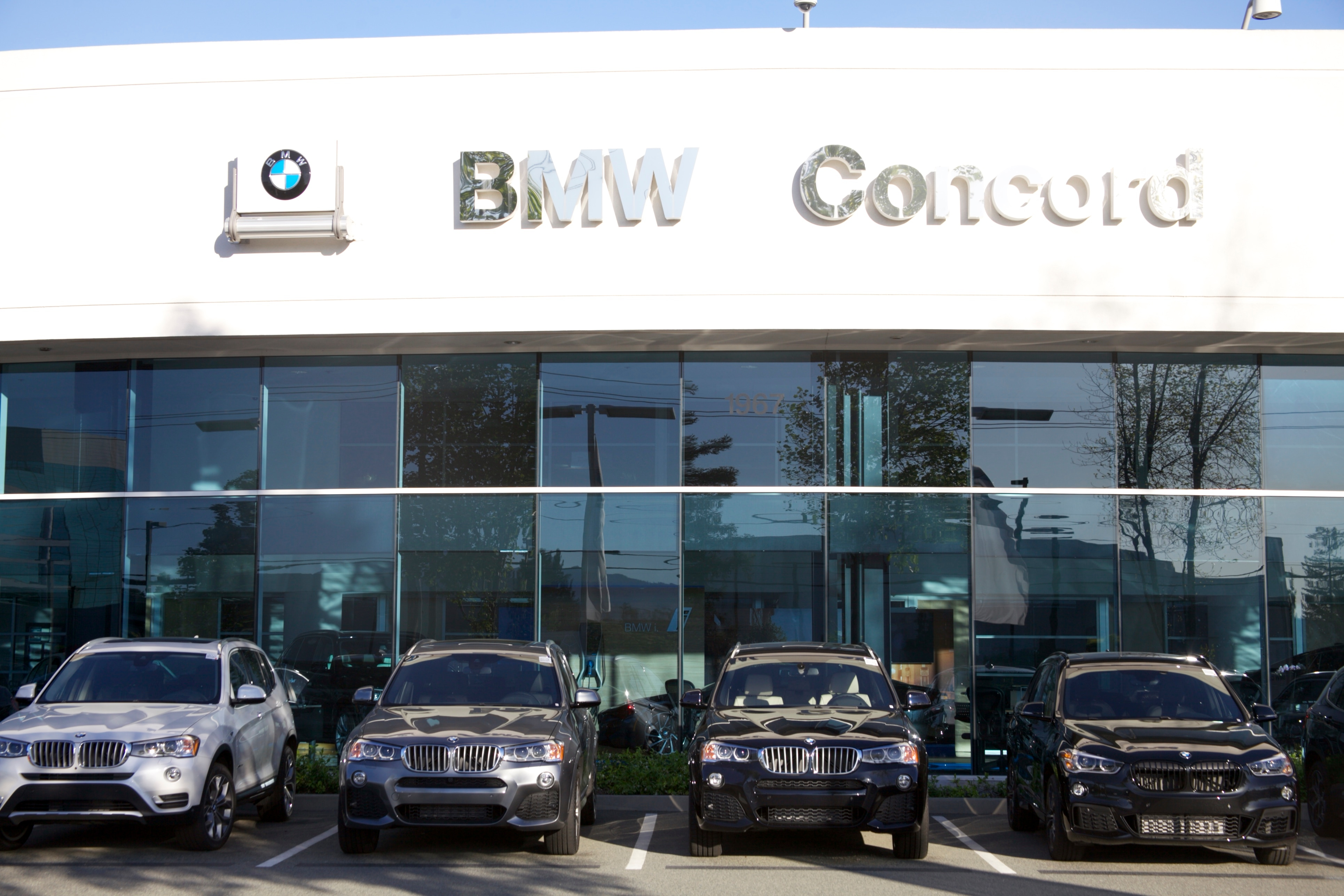New car specials bmw concord