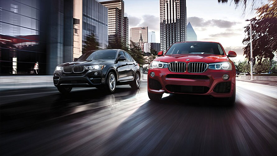 BMW X3 and X4 Brochures