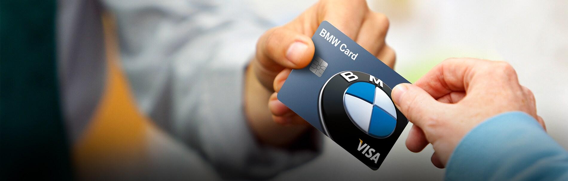 BMW Credit Card Header