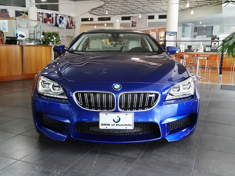 bmw of honolulu the new 2014 bmw m6 gran coupe is here. Black Bedroom Furniture Sets. Home Design Ideas