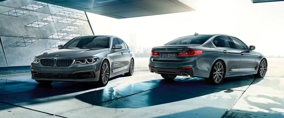 2018 BMW 5-Series trims