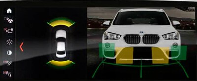 BMW Parking distance control