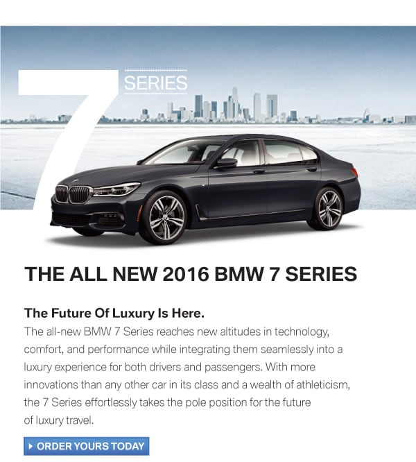 new 2016 BMW 7 Series in Portland, OR