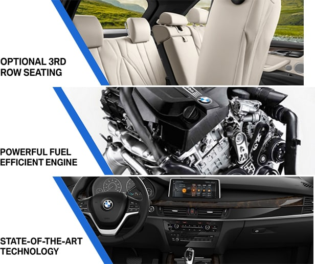 Optional Third Row Seating BMW X5 Sarasota FL, All New Technology BMW X5 Bradenton, Power Fuel Economy X5 Venice Sarasota Florida