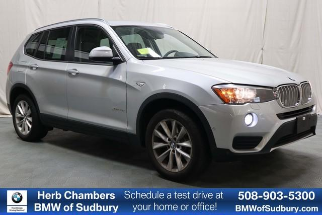 Pre-Owned 2015 BMW X3 xDrive28d AWD