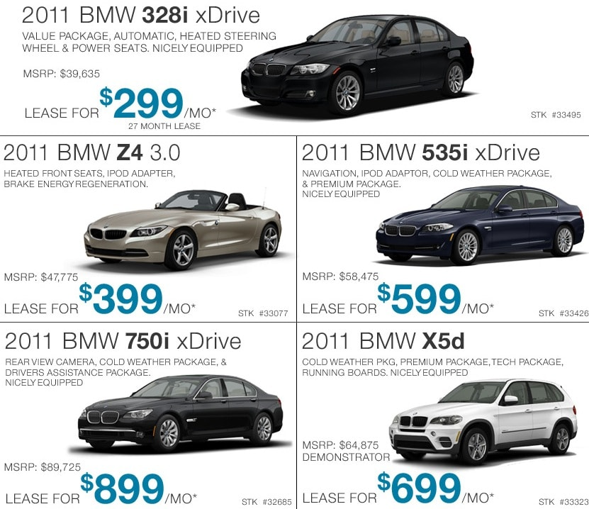BMW lease option