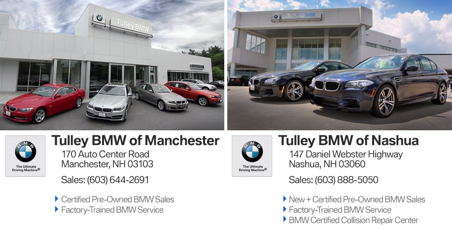 TULLEY BMW | New BMW dealership in Nashua and Manchester, NH 03104