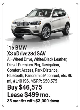 Bmw Of Towson >> BMW Loaner Lease Specials | BMW Leasing near Baltimore