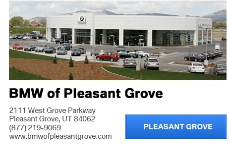 Bmw of utah for bmw of murray and bmw pleasant grove is for Grove motors in pleasant grove