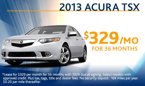 Acura  Lease on Specials On New And Used Cars  Trucks  Vans  Suvs  Parts And Service