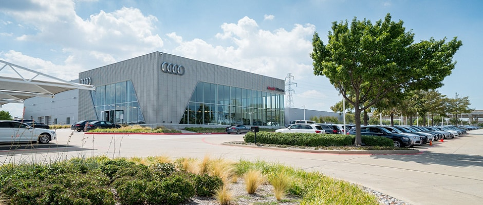 Exterior view of Audi Serving Flower Mound