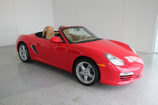 2009 Porsche Boxster Base CONVERTIBLE