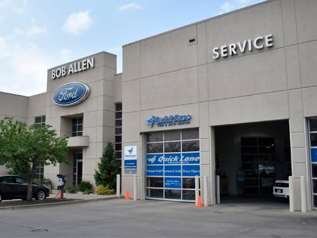 New Ford Used Car Dealership In Overland Park Ks Bob Allen Ford