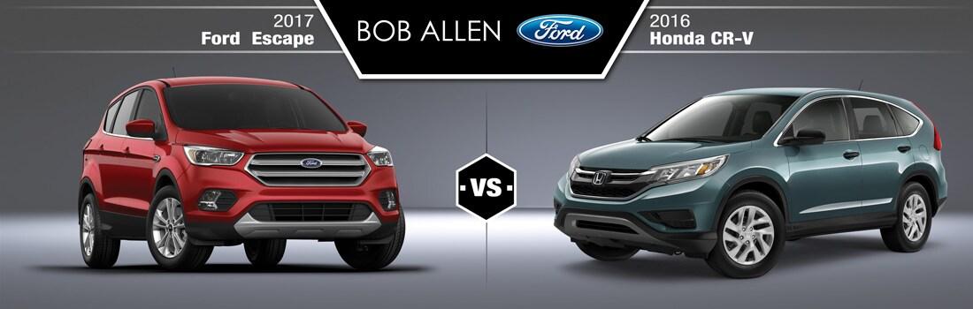 2017 ford escape vs 2016 honda cr v overland park ks for Ford escape vs honda crv