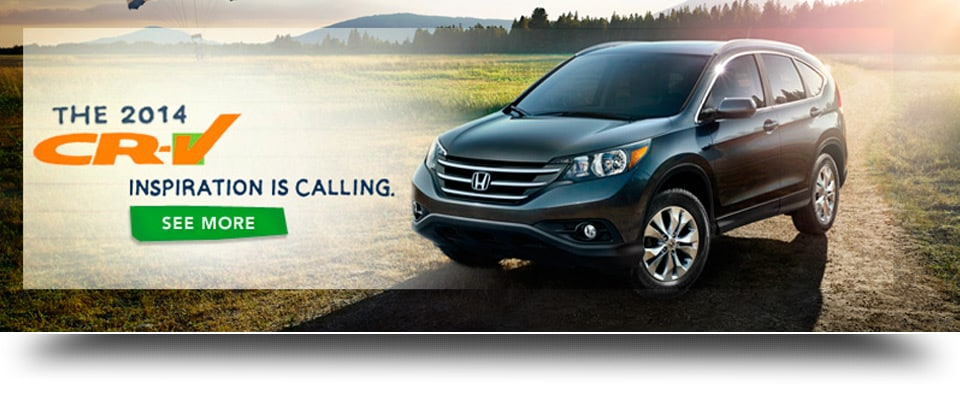 The 2014 CR-V - Inspiration is calling!