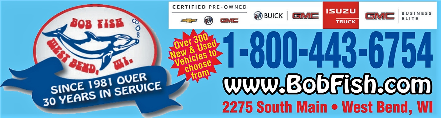 West bend 39 s bob fish buick gmc new and used gmc and for Bob fish west bend