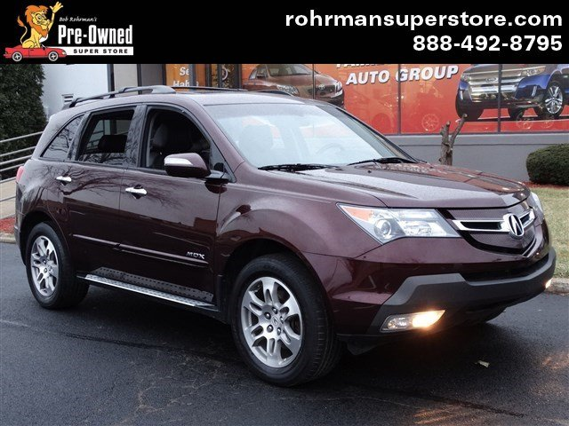 2008 Acura MDX 37L Technology Pkg wEntertainm Thank you for choosing the Bob Rohrmans Pre-Owned
