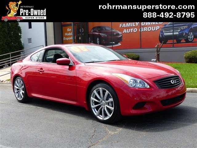 2008 Infiniti G37 Journey Thank you for choosing the Bob Rohrmans Pre-Owned Superstore as one of