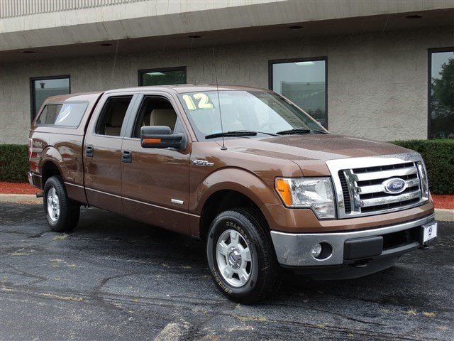 2012 Ford F-150 XLT ONE OWNER XLT 4X4 SUPERCREW POWERED BY 35L ECOBOOST ENGINE WITH 6SP ELECTRONI