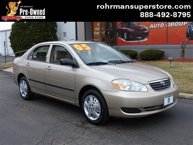 2005 Toyota Corolla CE Thank you for choosing the Bob Rohrmans Pre-Owned Superstore as one of you