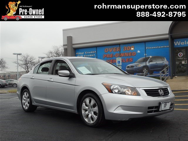 2008 Honda Accord 24 EX-L Thank you for choosing the Bob Rohrmans Pre-Owned Superstore as one of