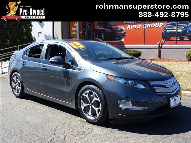 2013 Chevrolet Volt  PREMIUM INTERIOR NAVIGATION BACKUP CAMERA LOW MILES FACTORY REMOTE STAR