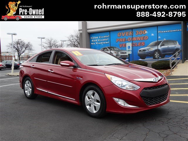 2011 Hyundai Sonata Hybrid Thank you for choosing the Bob Rohrmans Pre-Owned Superstore as one of